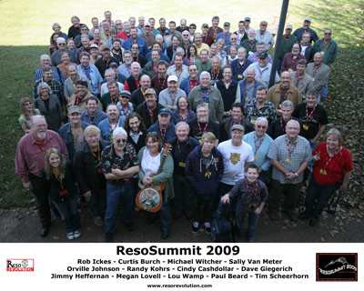 ResoSummit 2009 Group Photo